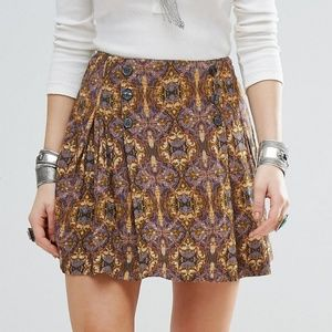 Free People Lover's Lane Mini Skirt